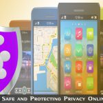 Protecting Privacy Online with Cell Phones