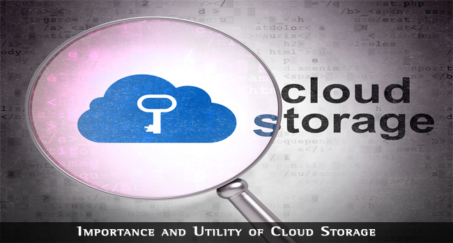 Importance and Utility of Cloud Storage