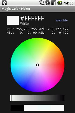 Magic Color Picker Android App