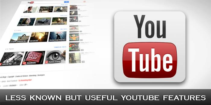 Less Known but Useful YouTube Features