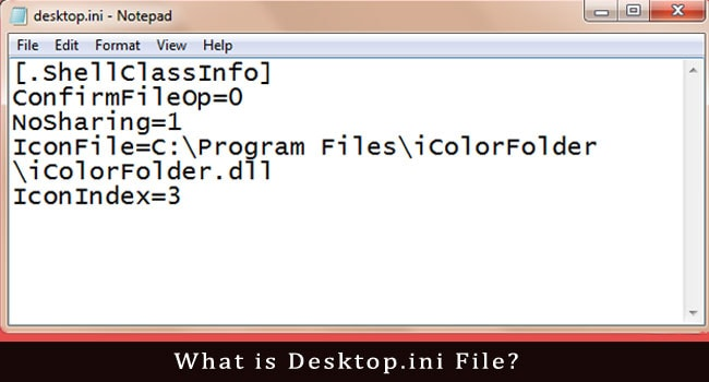 What is Desktop.ini File?