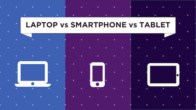 Laptop Vs. Tablet PC Vs. Smartphone