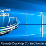 Remote Desktop Connection In Windows10