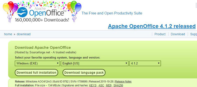 Open Office Windows Tool