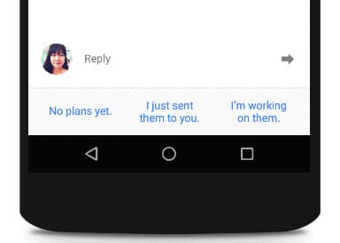 Google Inbox Smart Reply