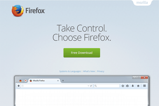 Mozilla Firefox Web Browser for Windows