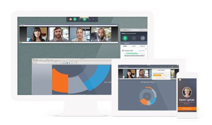 GoToMeeting Video Conferencing Service