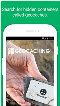 Geo Caching Augmented Reality Game