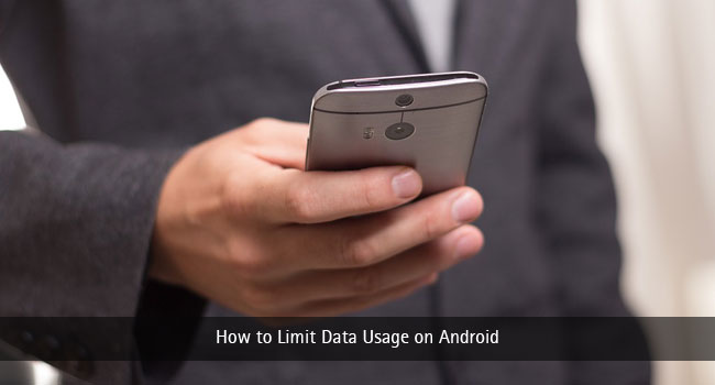 How to Limit Data Usage