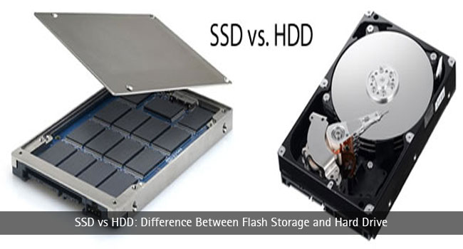 SSD vs HDD: Difference Between Flash Storage and Hard Drive