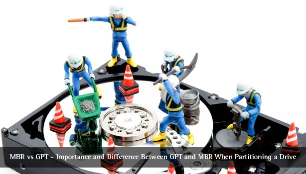 MBR vs GPT – Difference Between GPT and MBR When Partitioning a Drive