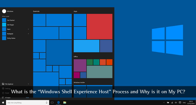 What is Windows Shell Experience Host Process and Why is it on My PC?