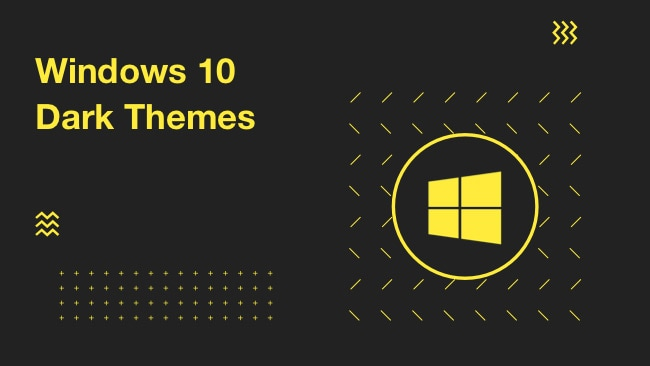 10 windows 10 dark themes ultimate dark edition themes 2018