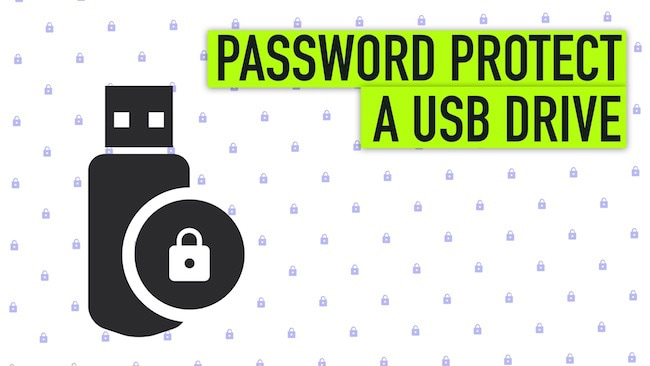 How to Password Protect a USB Drive