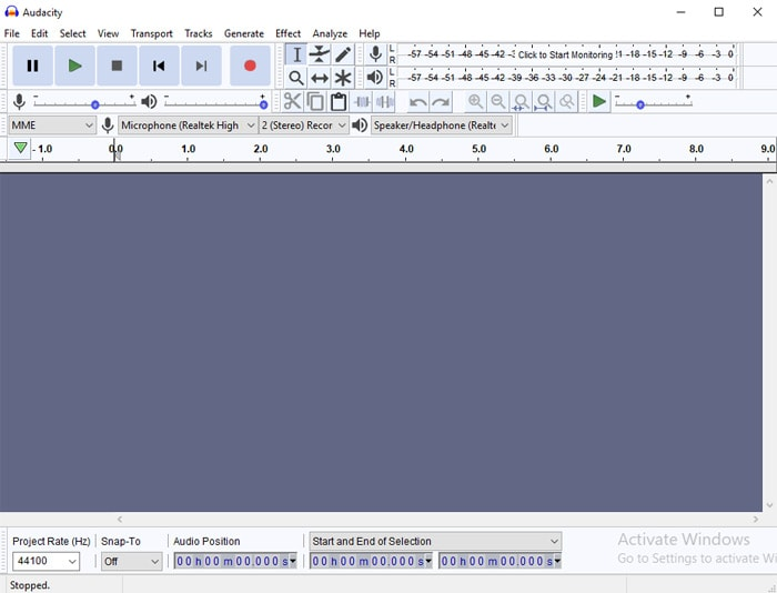 Download Audacity Software