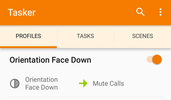 Orientation for Mute Calls