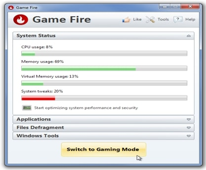 Game Fire System Usage
