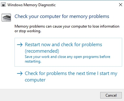 Check Computer Memory Problems
