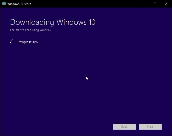 Windows Download Setup USB Flash Drive