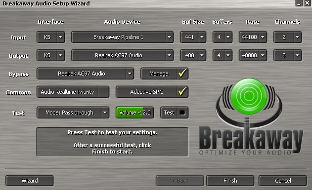 Breakaway Audio Enhancer