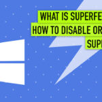Disable or Enable Superfetch
