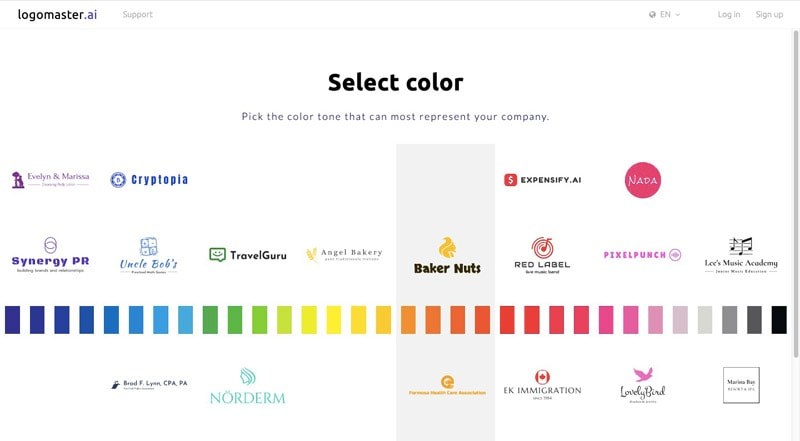 Select Color